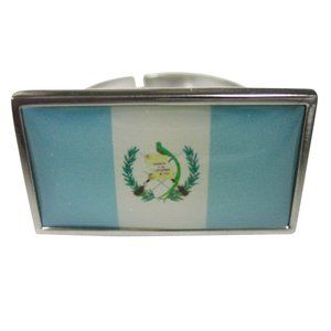 Guatemala Flag Fashion Ring